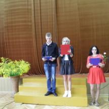 Šventės vedėjai Nerijus Rauza, Vytautė Kaminskaitė, Gitana Parajackaitė ir Mintarė Gailiūtė