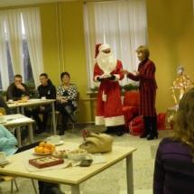 Metodininkės L. Venckienės kalėdinis sveikinimas.