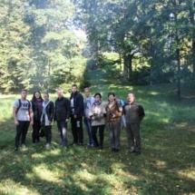 Aukštadvario žemės ūkio mokiniai su renginio organizatoriais.